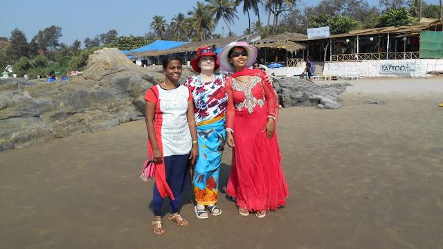На пляже Вагатора