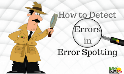 How to Detect Errors in Error Spotting