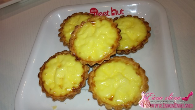 Sweet Hut : egg tart