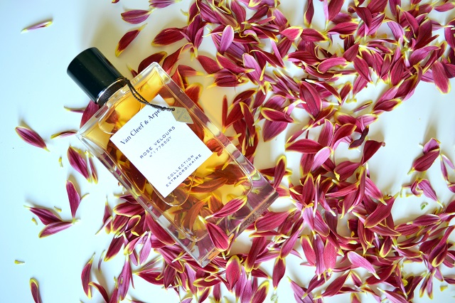 profumi femminili per le sere d'estate; van cleef & arpels rose velours