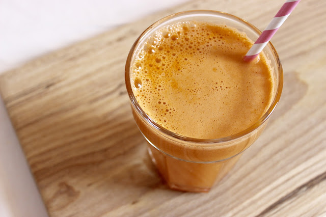 carrot apple and fennel juice
