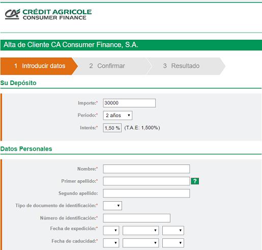 credit-agricole-consumer-finance-deposito