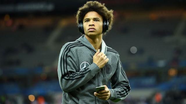 Leroy Sané Schalke Allemagne Euro