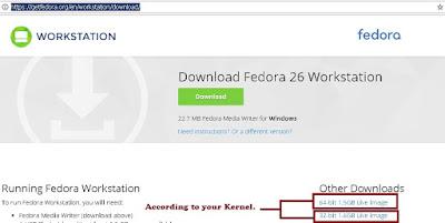 Download Fedora