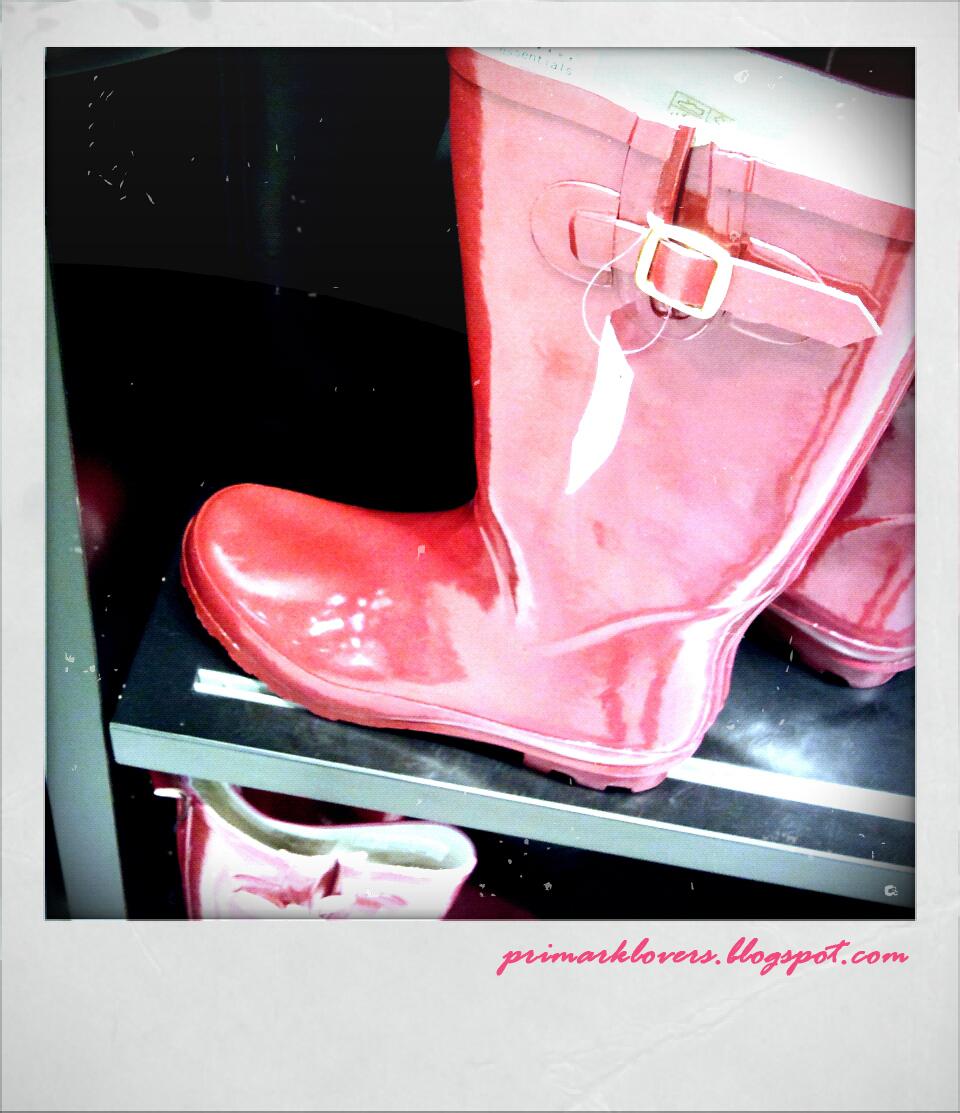 22107481 botas de agua rojas primark