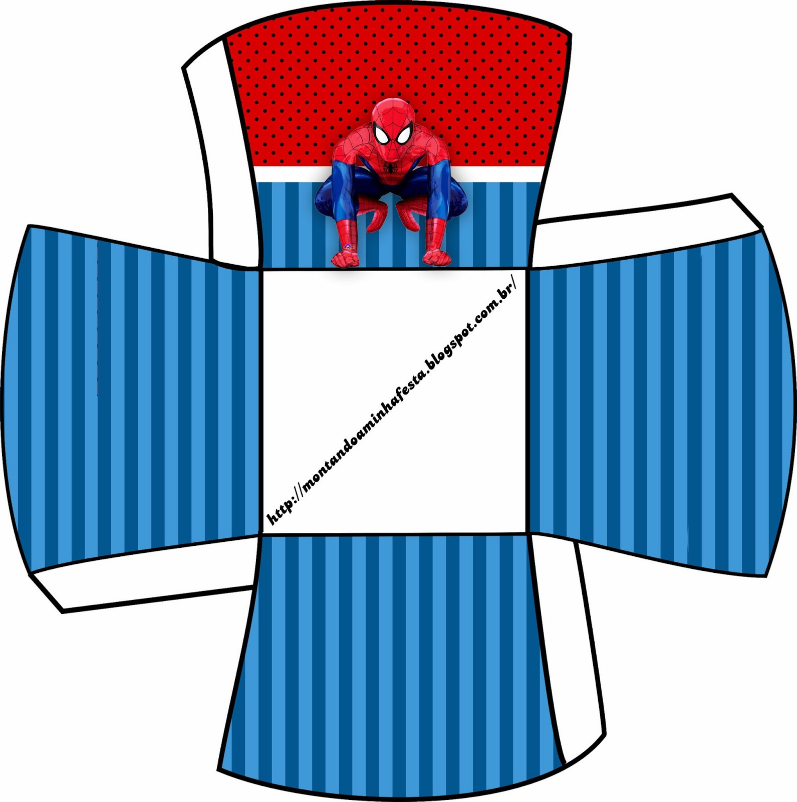 Spiderman Party Free Printable Boxes Oh My Fiesta For Geeks