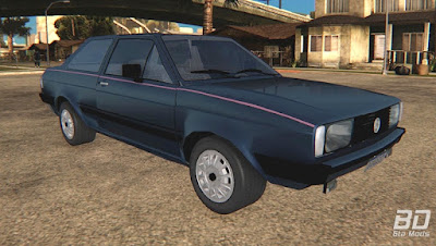 Download mod carro Volkswagen Voyage Los Angeles 1985 para o jogo GTA San Andreas PC, GTA SA