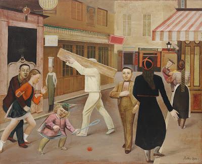 Balthus - la rue 1933