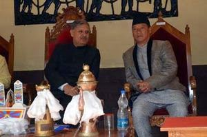 Union Minister of State for Defence Rao Inderjit Singh - Bimal Gurung GTA chief