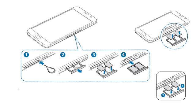 Come inserire 2 SIM Samsung Galaxy S6 dual sim