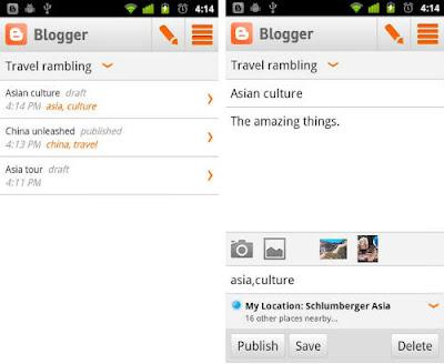 10 Aplikasi Android Berguna Untuk Blogging