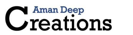 Aman Deep Creations - Find the best in Health Supplements, Nutrition, Fitness and Bodybuilding