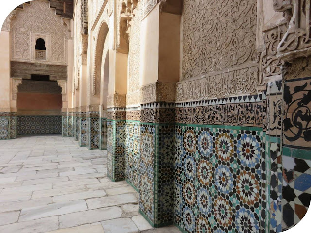 Long Weekend in Marrakech - Sidewalk Safari - Medersa Ben Youssef