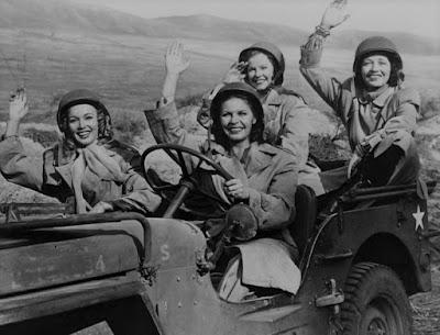 Carole Landis Martha Raye Four Jills In A Jeep