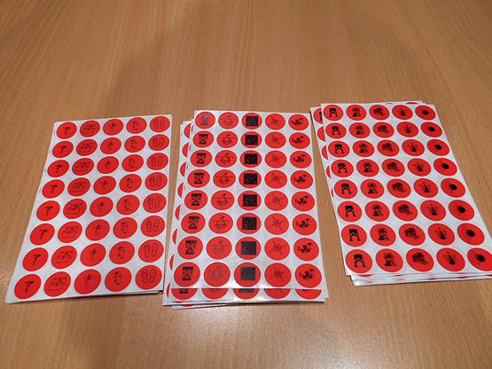 gomets de la plaquetoneta