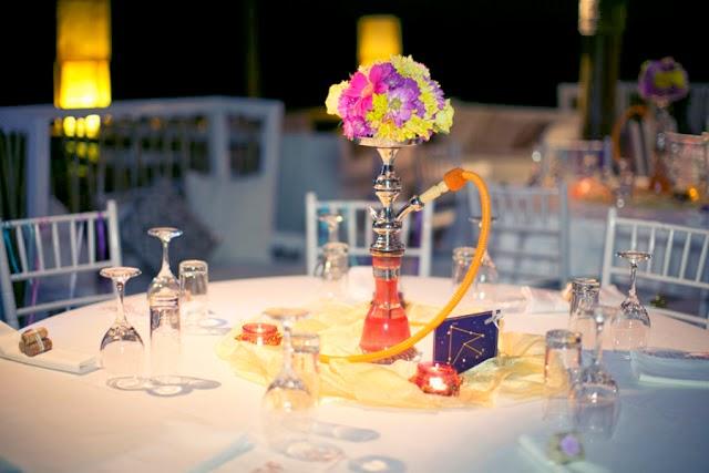 decoracion para bodas con mucho color