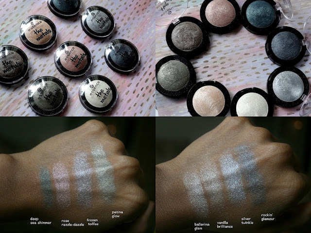 Essence Metals Eyeshadows
