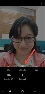 Cara Setting dan Cara Menggunakan kamera Samsung Galaxy A8+