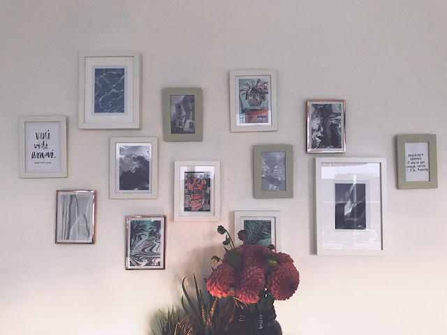inspiration wall, pinterest, wall, decoration, diy, flower, inspiration, swissblogger, switzerland, papertownch,