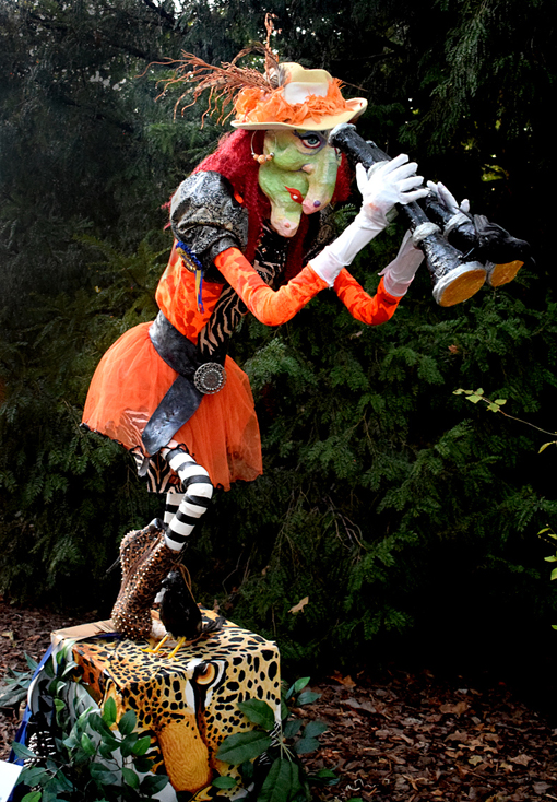 "Scarecrows in the Garden | ""The Huntress"" 
