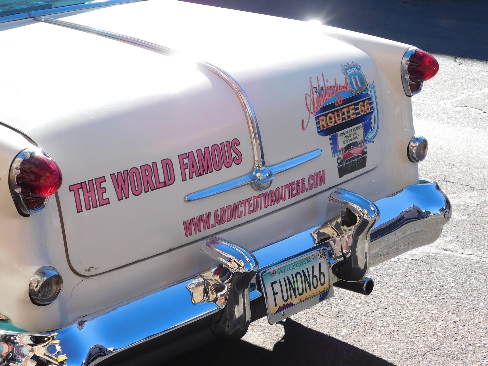 Route 66 Williams, AZ vintage car
