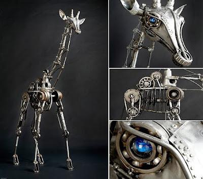 Escultura kinetica o cinética