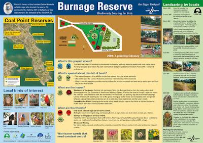 Burnage Reserve sign