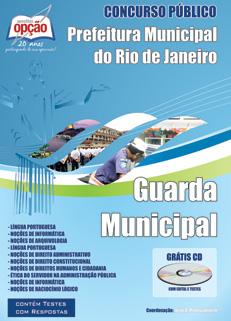 Apostila para o concurso de GUARDA MUNICIPAL-RJ