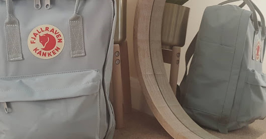 What's in my changing bag - Fjallraven Kanken Review