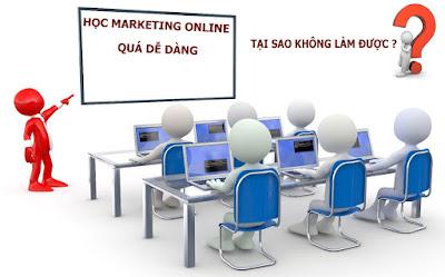 làm marketing online thành công