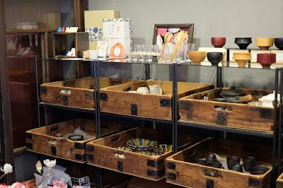 東京の古民家カフェ Re:gendo(りげんどう)雑貨販売スペース