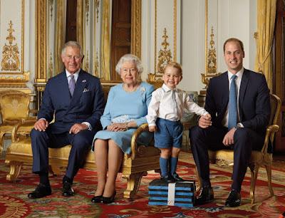 Károly walesi herceg, II. Erzsébet brit királynő, György herceg, Vilmos cambridge-i herceg, Nagy-Britannia, születésnap, Buckingham-palota