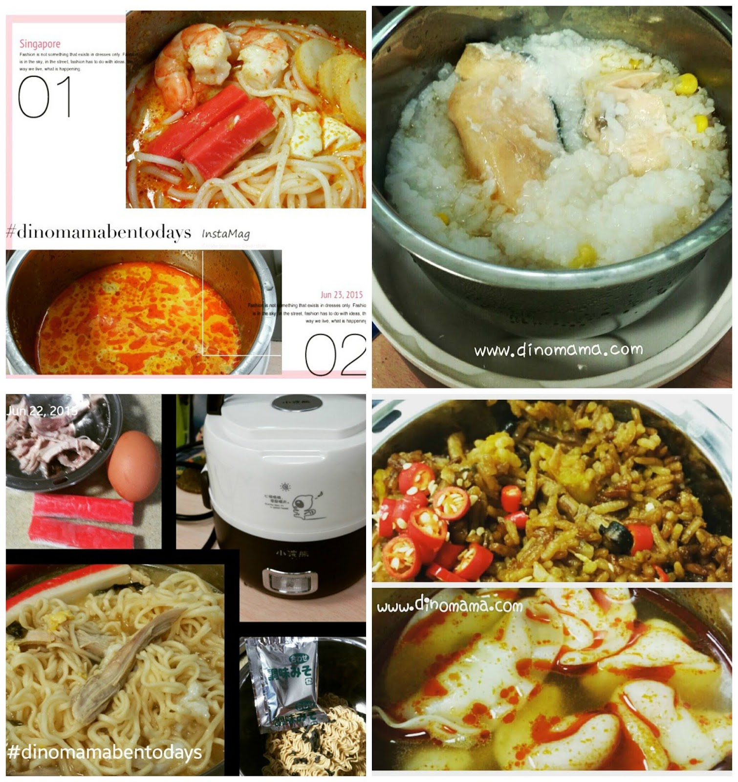 Day in a life dial of a mum 2016 we are the dinofamily here are some of the food that i cooked in the office a friend once mentioned that my lunch is always very exciting because i get to cook different food forumfinder Gallery