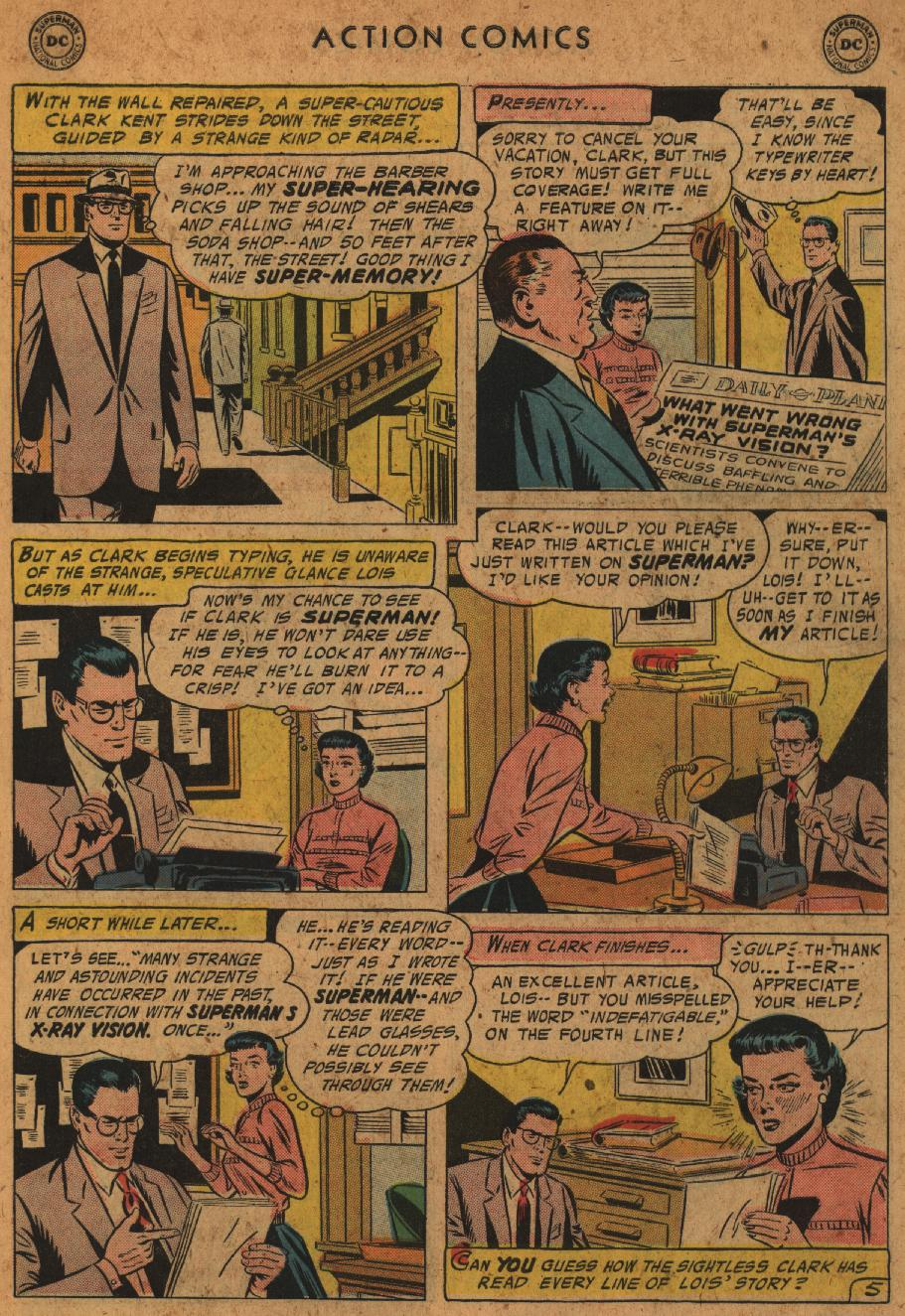 Read online Action Comics (1938) comic -  Issue #227 - 7