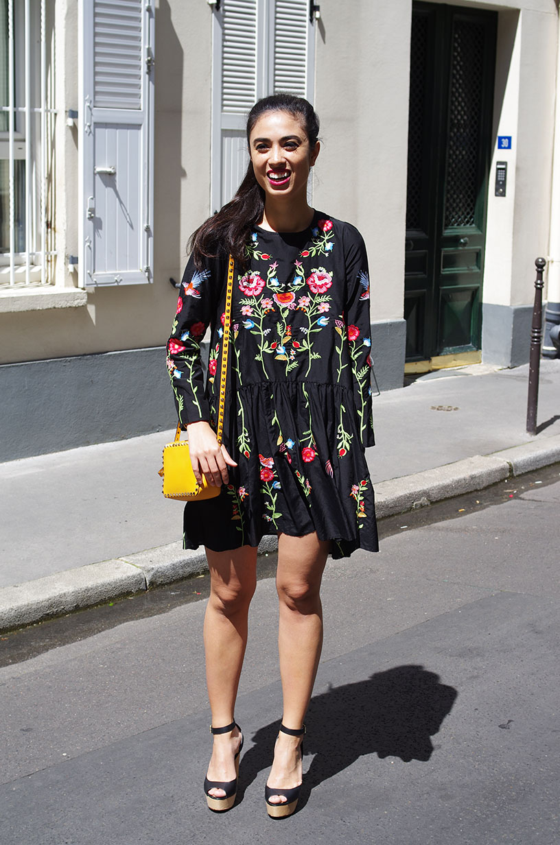 Elizabeth l Embroidered summer dress outfit l Robe brodée Zara Valentino Topshop l THEDEETSONE l http://thedeetsone.blogspot.fr