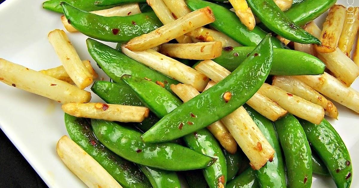 Olla-Podrida: Ina Garten's Sautéed Asparagus and Snap Peas