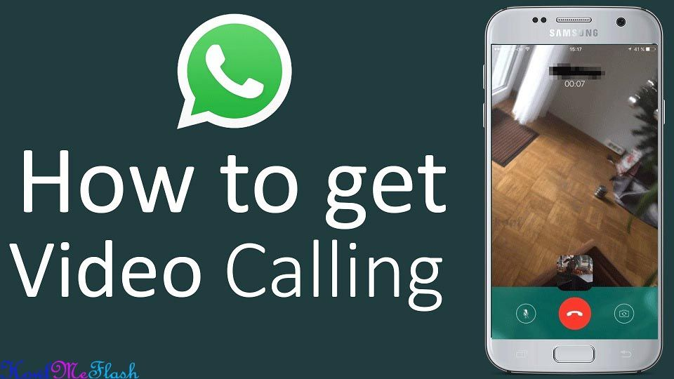 Enable Video calling on Whatsapp