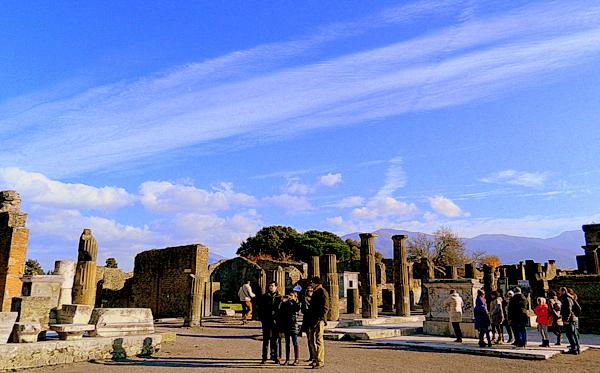 Ruínas de Pompeia: Fórum