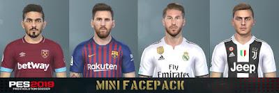 PES 2019 Mini Facepack by Messi Pradeep