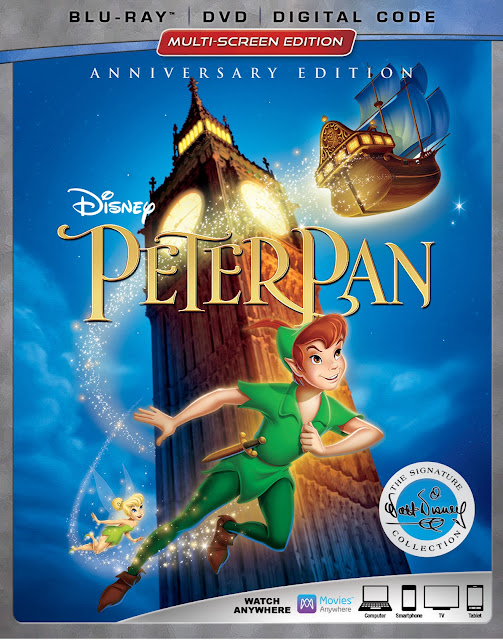 Come along and join in on a visit to Walt Disney's Office and a Disney Studios scavenger hunt! To celebrate the 65th anniversary of Peter Pan! #PeterPanBluray