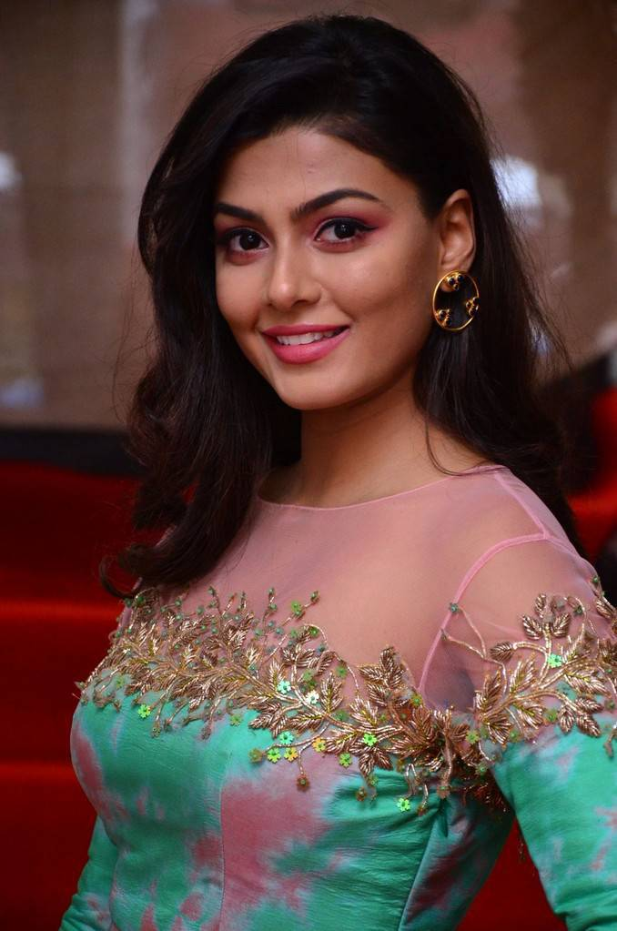 Anisha Ambrose Stills At F Salon Launch In Hyderabad