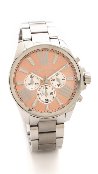 Kors rose gold face watch Wren watch
