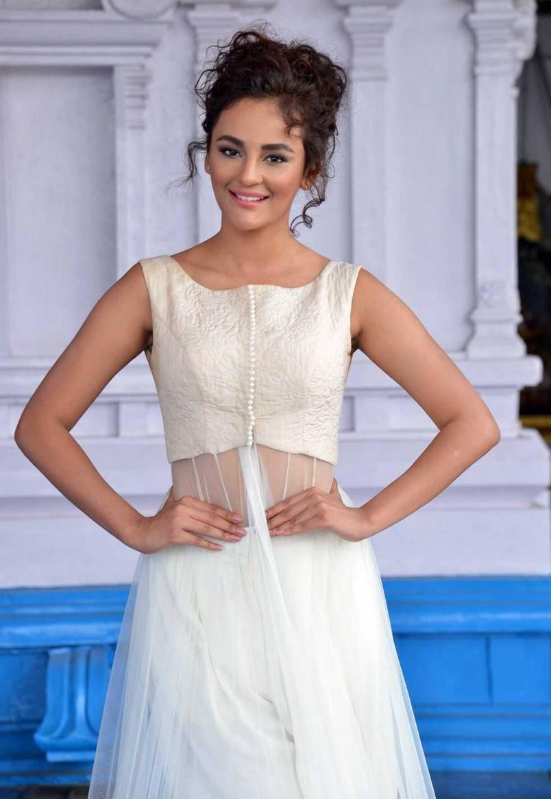 Glamours Mumbai Actress Seerat Kapoor Photo shoot In White Dress