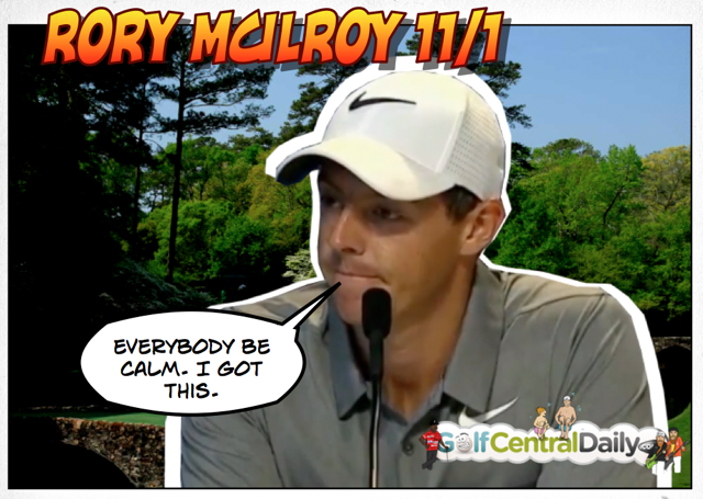 Rory McIlroy GolfCentralDaily Masters