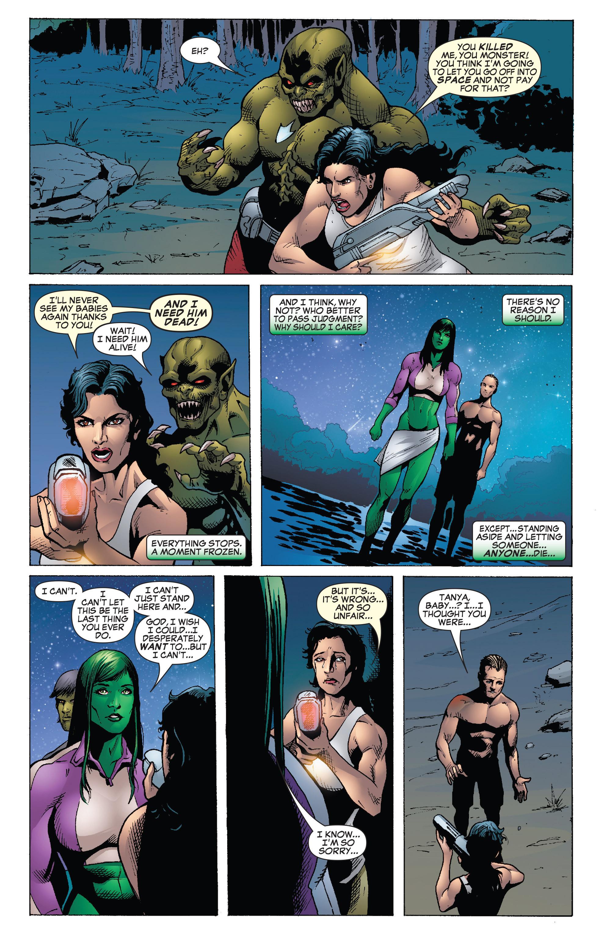 Read online She-Hulk (2005) comic -  Issue #26 - 22