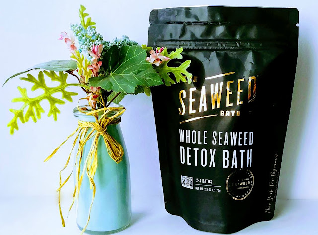 Review of Whole Seaweed detox bath by the seaweed co at the indie beauty expo