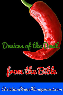 Devices of the devil from the Bible