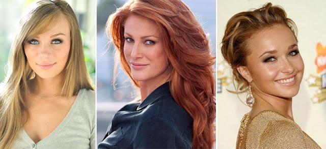 Женщины с низким контрастом внешности