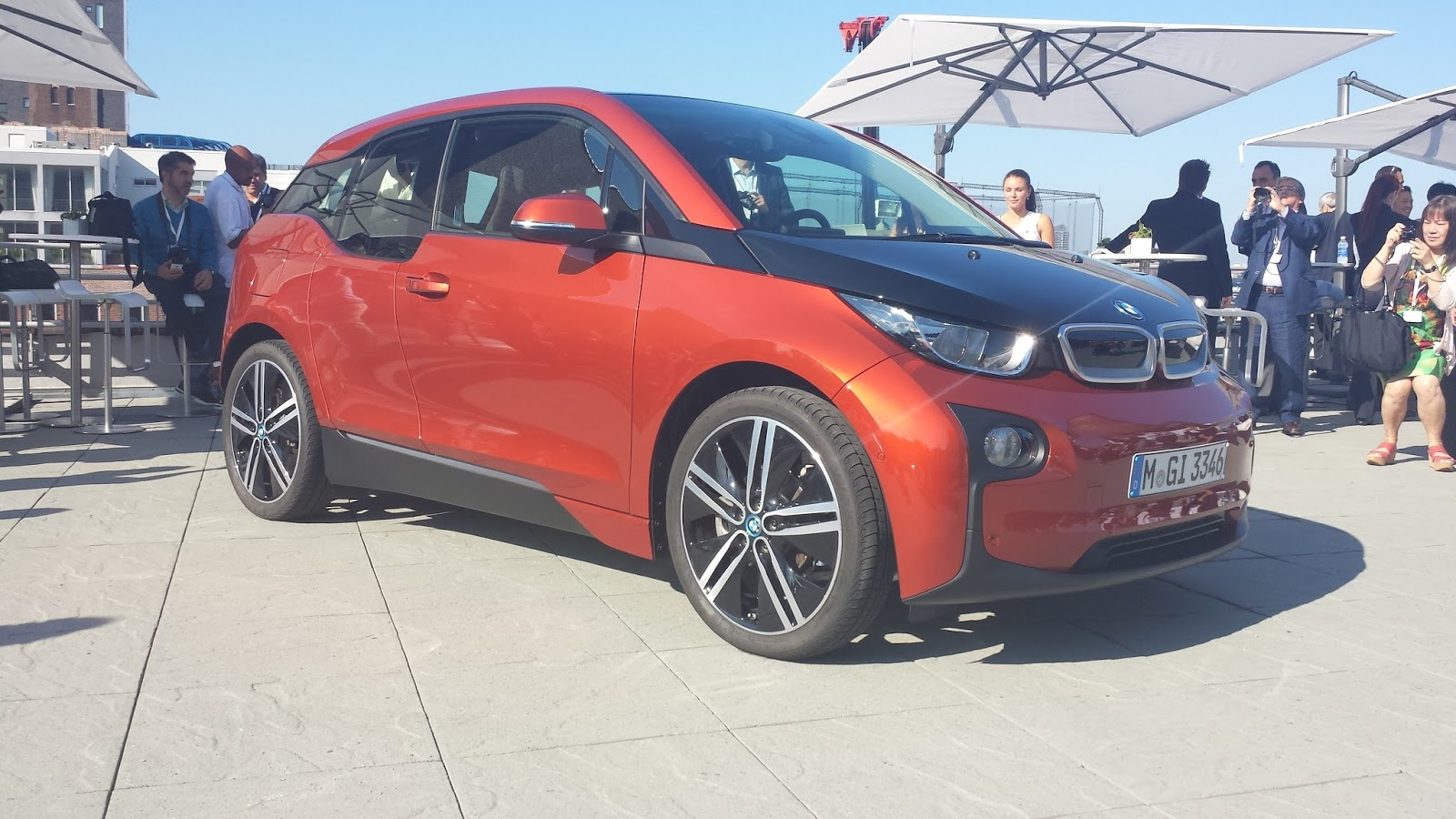 pictures from the i3 premier in ny bmw i3 forum. Black Bedroom Furniture Sets. Home Design Ideas