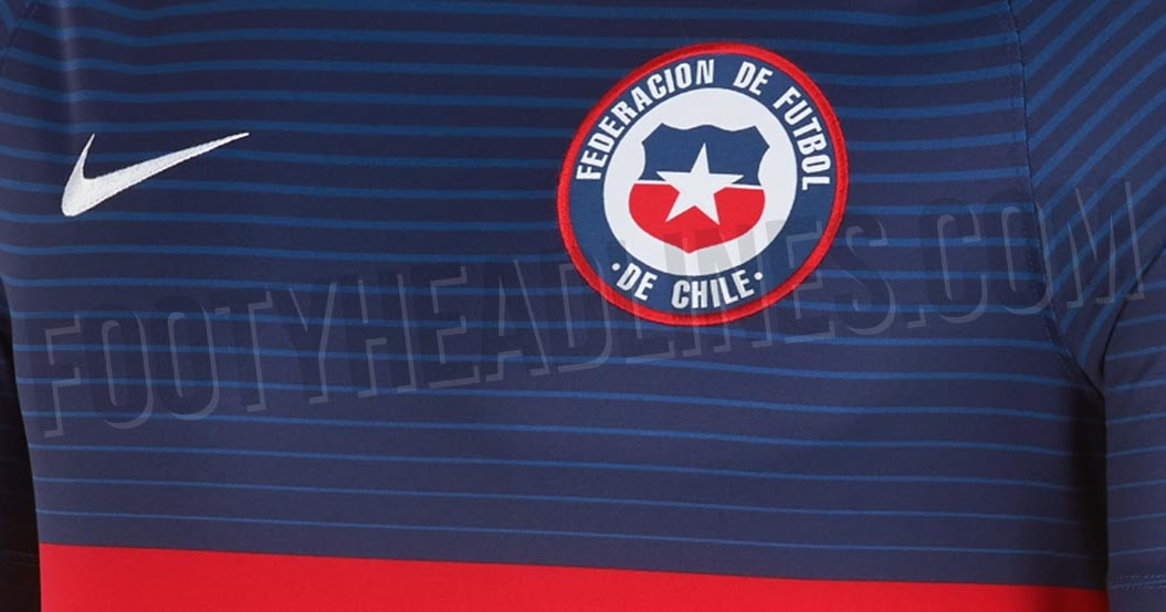 unique nike chile 2018 pre match jersey leaked footy